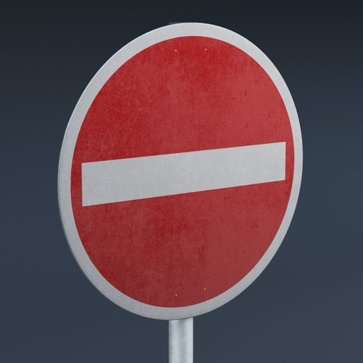 Thumbnail: European Traffic Sign 02