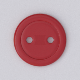 Thumbnail: button 2 holes red