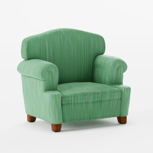 Thumbnail: Couch green stripes