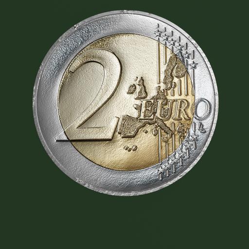 Thumbnail: Euro Coin, 2 Euro