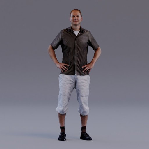 Thumbnail: 3D soul - standing young man - Niklas