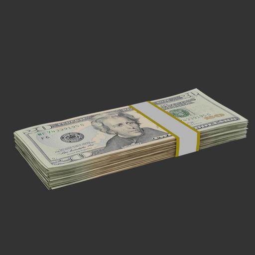 Thumbnail: 20 Dollar bills