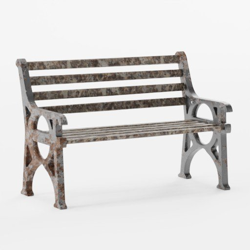 Thumbnail: Rusted Bench