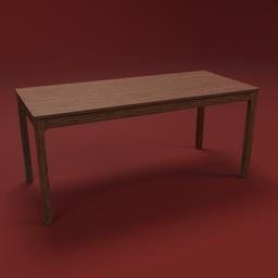 Thumbnail: IKEA EKEDALEN table 180 wood