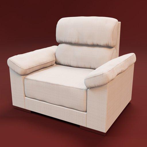 Thumbnail: Sofa Noemi 1 seat