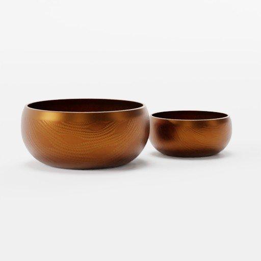 Thumbnail: Metallic Bowls