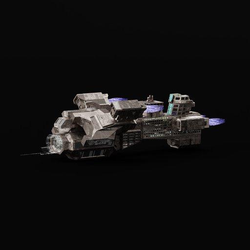 Thumbnail: Heavy Space Cruise Ship