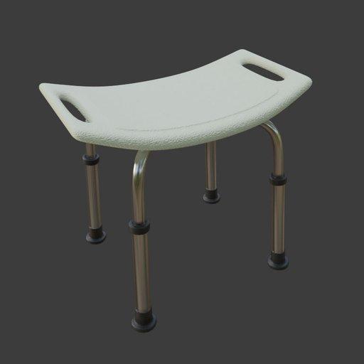 Thumbnail: Elderly bath stool