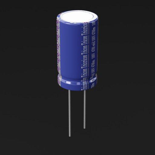 Thumbnail: Electrolytic capacitor