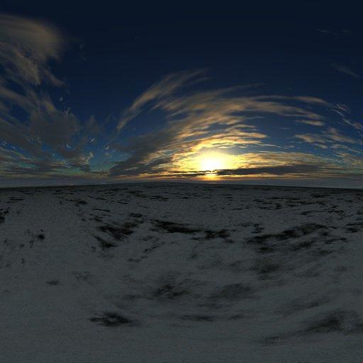 Winter Evening Skydome
