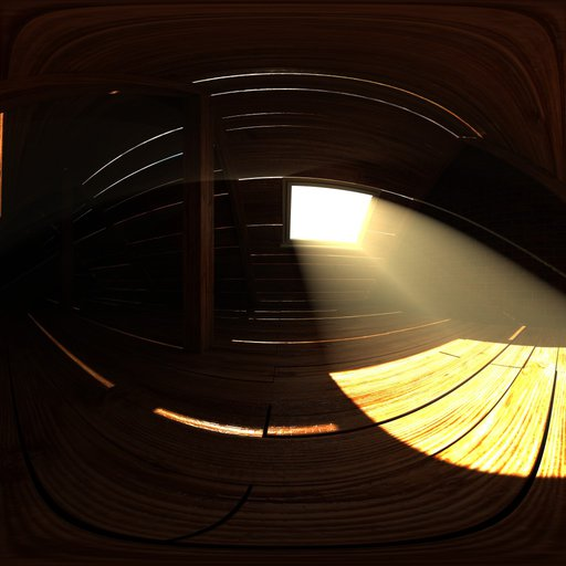 Thumbnail: Old attic with sunlight beams