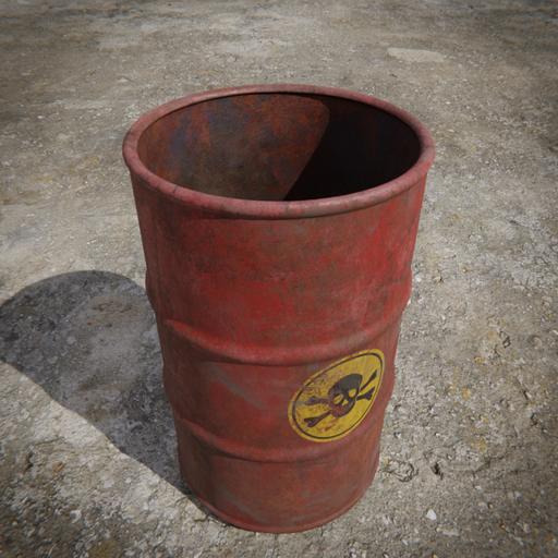 Toxic Barrel - Red