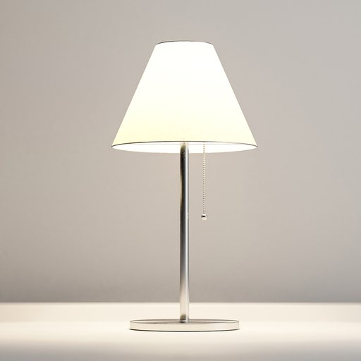 Thumbnail: Modern bedside lamp with warm light