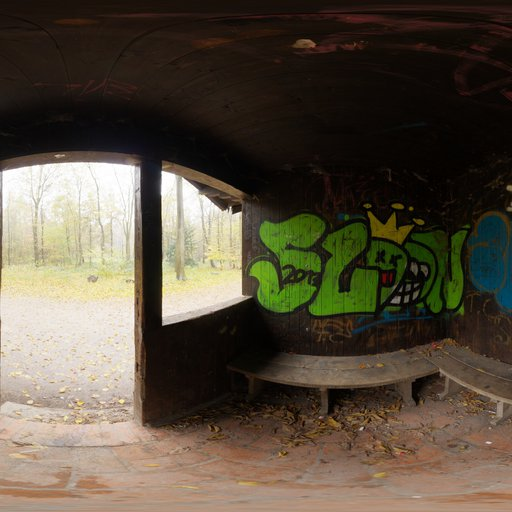 Thumbnail: Graffiti Shelter
