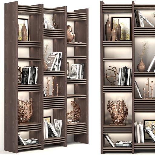 Decorative Wardrobe and bookcase