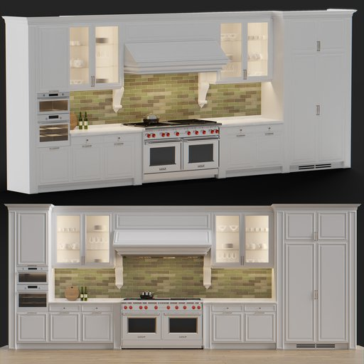 Thumbnail: Classic Kitchen set