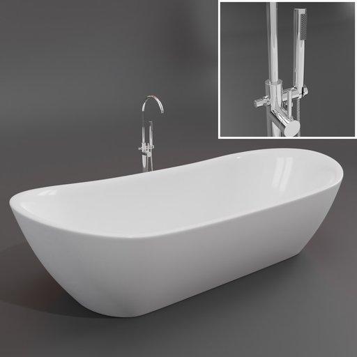 Thumbnail: Freestanding bath