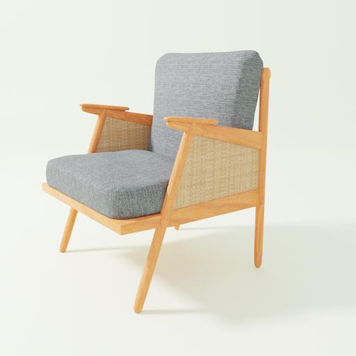 Thumbnail: Wooden Armchair