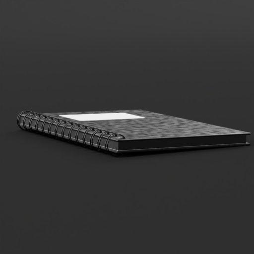 Thumbnail: Black notebook