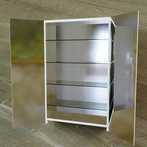 Thumbnail: Cabinet mirror IKEA Godmorgon