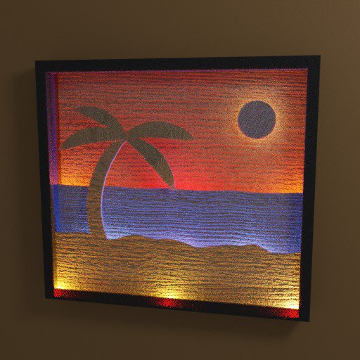 Thumbnail: Beach Scene Light Box