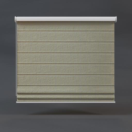 Roman curtains beige 01 full