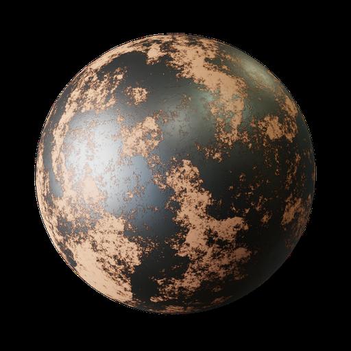Thumbnail: Rust procedural