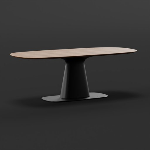Thumbnail: Rolf Benz dining table