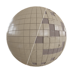 Thumbnail: Procedural Damaged Tiles