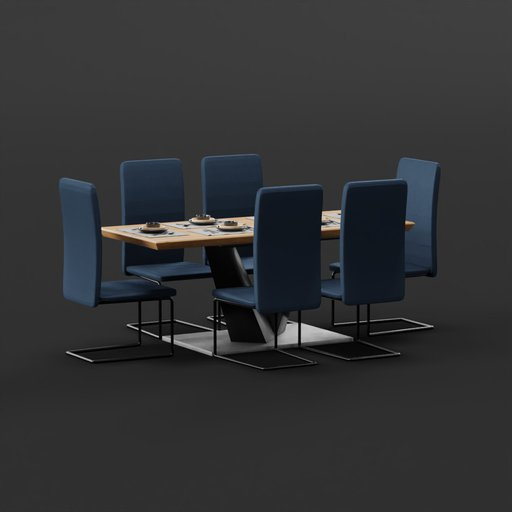 Thumbnail: Modern Dining Table