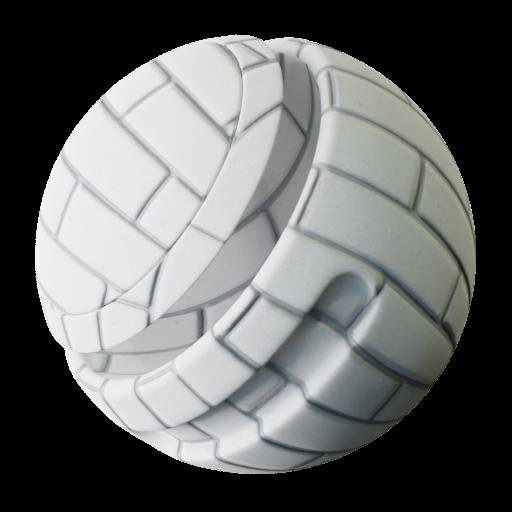 Thumbnail: Smooth White bricks texture