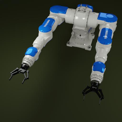 Thumbnail: Industrial Robot Yaskawa-MOTOMAN SDA20F-Rev.1.2