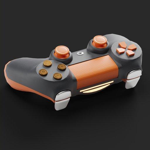 Gamepad Controller Orange