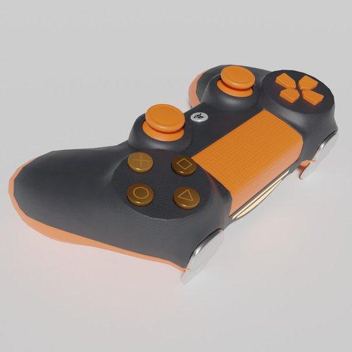 Thumbnail: Gamepad Controller Orange