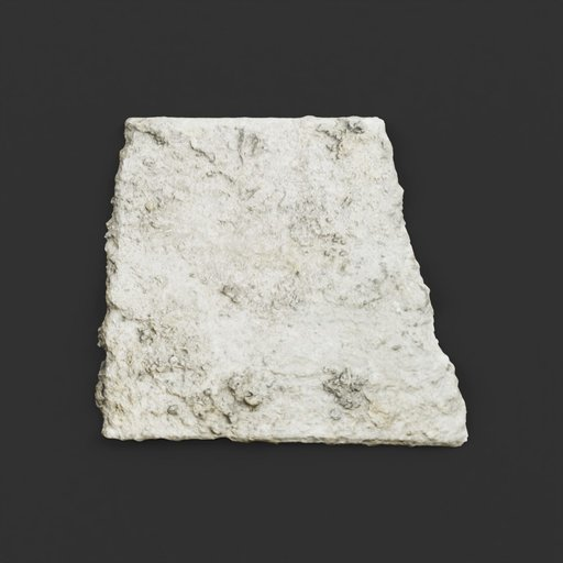 Thumbnail: Photoscanned Piece of Half-buried Concrete