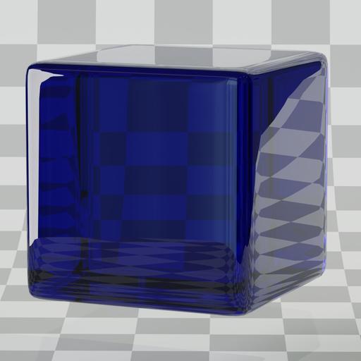 Thumbnail: Glass blue