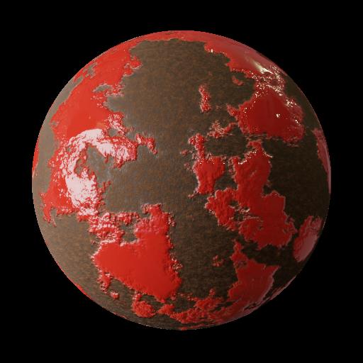 Thumbnail: Rusty steel - procedural