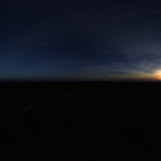High Cirrus Sunset Skydome