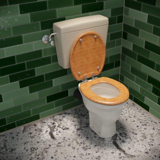 Thumbnail: Older toilet