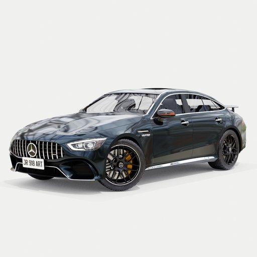 Thumbnail: Mercedes amg gt 63