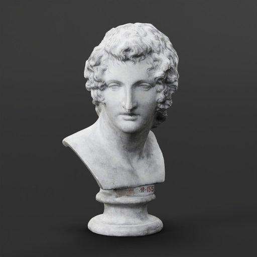 Thumbnail: Bust of a Man
