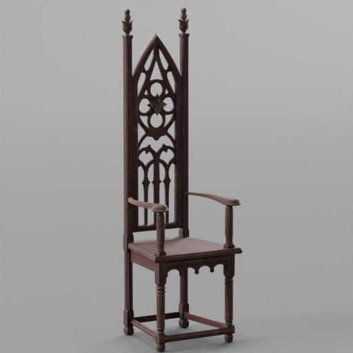 Thumbnail: WIne Vitage Wooden Chair