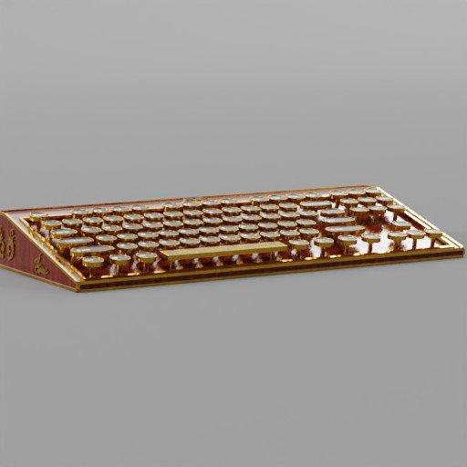 Thumbnail: Steampunk keyboard