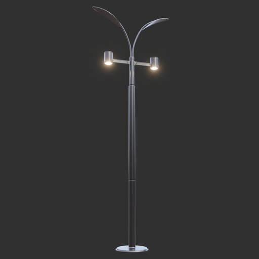 Thumbnail: Modern Street Lamp (tall) #04