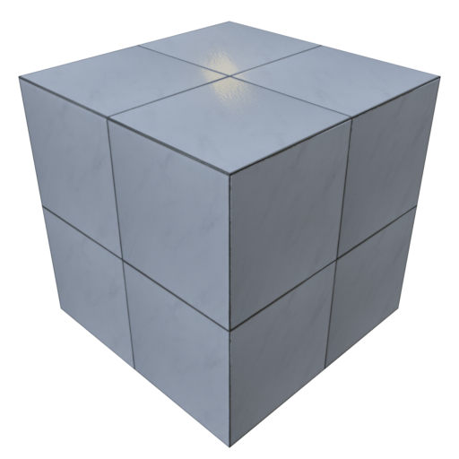 Thumbnail: Stylized white tiles