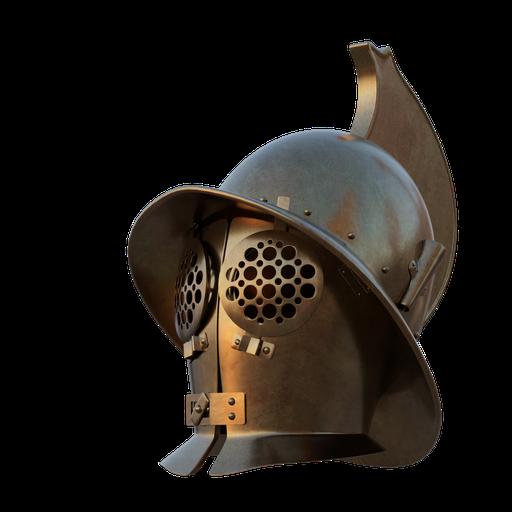 Murmillon Gladiator Helmet
