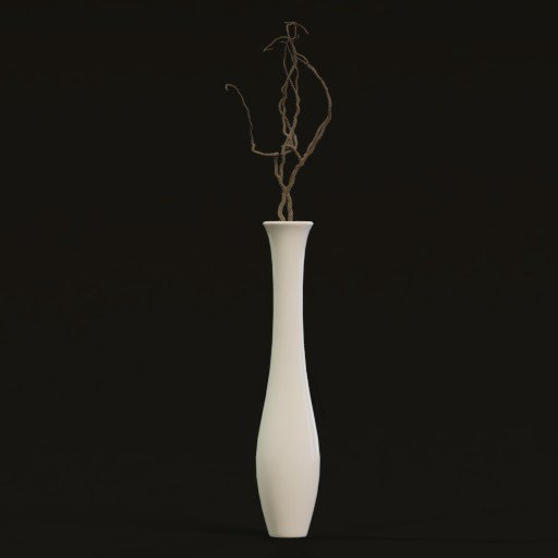 Thumbnail: Tall Vase with dry branch decoration