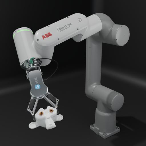 Thumbnail: Industrial robot ABB CRB15000 Model.