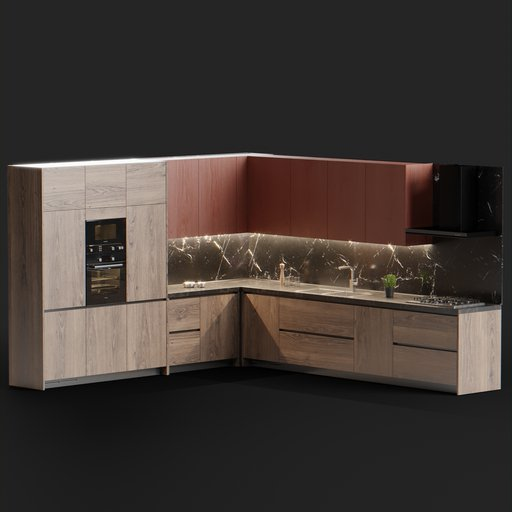 Thumbnail: Modern Kitchen Set