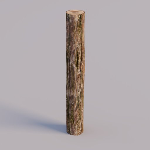 Thumbnail: fence post / log